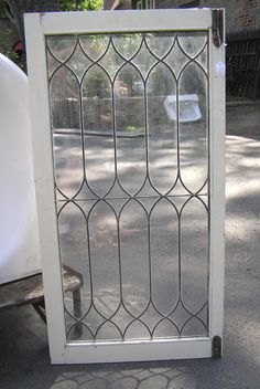 1000 Ideas About Leaded Glass Cabinets On Pinterest