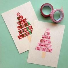 washi tape cards.