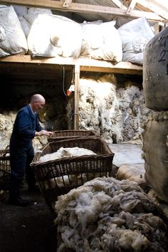 "Today we feel incredibly honoured to feature Oliver Henry on the Wovember blog. Known to Shetland friends and locals as ""Ooey Ollie"" (ooey = woolly), Oliver has been sorting and grading wool at Jam..."