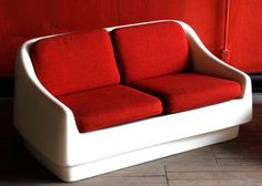 Thonet Saturna Mod Space Age Couch by LustFoundVintage on Etsy, $2500.00