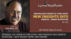 Bob Miller was inspired to start examining chronic lyme disease, and he founded NutriGenetic Research Institute to research and publish reports on the relationship between genetic variants, labs an…