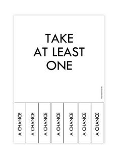 Take a chance on yourself!  You might be pleasantly surprised #love