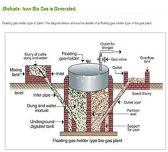 How biogas is generated