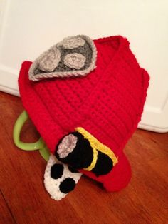 Marshall Paw Patrol Crochet Hat Pattern Free : Marshall from paw patrol My Crochet items Pinterest ...