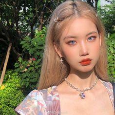 Korean Beauty Girls, Pretty Korean Girls, Cute Korean Girl, Asian Beauty, Asian Girl, Pelo Ulzzang, Ulzzang Makeup, Uzzlang Girl, Asian Makeup