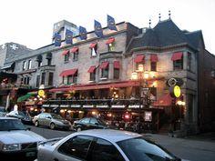Bar Rue Crescent, Montréal
