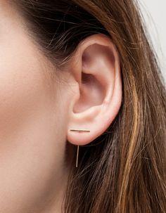 Staple & Loop Earring
