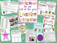 End of the Year Learning Celebration