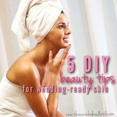 5 DIY Beauty Tips for Glowing Wedding-Ready Skin!