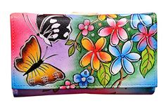 Niarvi Women's Spanish Garden Hand Painted Wallet Multicolour -- Want to know more, click on the image.