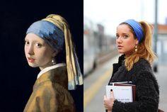 """""""Le donne dei suoi quadri... lui le tira dentro nel suo mondo. tu ti ci potresti perdere"""" - la ragazza con l'orecchino di Perla Jan Vermeer - #weRart   https://www.instagram.com/werart_project/"""