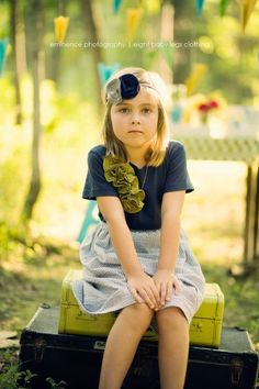 supper cute headband and outfit