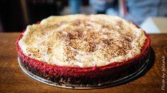 red velvet cheesecake with white chocolate (gluten-free version)