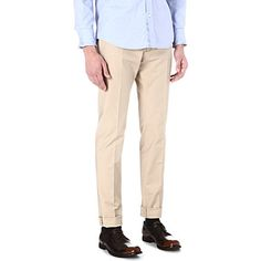 D SQUARED - Cool Guy turn-up chinos | selfridges.com