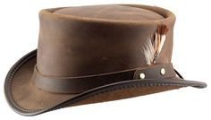 Voodoo Hatter Brand Brown Marlow Hat by Head'n Home Hats