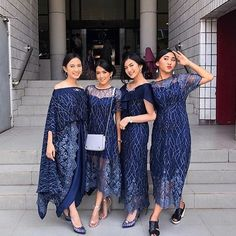 Photos and Videos - New Ideas Kebaya Lace, Batik Kebaya, Kebaya Dress, Dress Pesta, Dress Brokat Muslim, Kebaya Hijab, Dress Brukat, Hijab Dress Party, The Dress