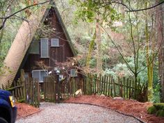 Cottage on the Creek, 20 minutes from Santa Cruz $125 a night.