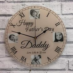 Father's Day is all about celebrating your dad and so if you're looking for a beautiful gift that'll tell him what he means to you, then you are at the right place. Cool Fathers Day Gifts, Happy Fathers Day, Happy Day, Cool Gifts, Best Gifts, Photo Clock, Invite Your Friends, Personalized Gifts, Christmas Gifts