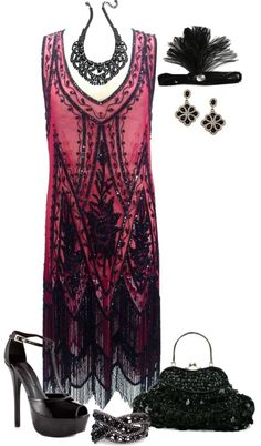 """""""Inspired by The Great Gatsby"""" by kp802 ❤ liked on Polyvore"""