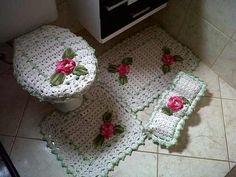 bico do jogo de banheiro facil e bonito -croche - Pesquisa Google