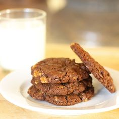Chocolate Almond Toffee Cookies Recipe on Food52 recipe on Food52