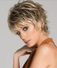 Women Short Wigs 2019 Flaxen Wave Curly Tousled Synthetic WAfbeeldingsresultaten voor Short Shag Hairstyles for Women Over 50 Back VeiwsClick by Ellen WilleResultado de imagen de Sassy Hairstyles for Over 50 Edgyhighlights and lowlights for short brown ha Short Choppy Hair, Short Shag Hairstyles, Short Hair With Layers, Short Hair Cuts For Women, Short Hairstyles For Women, Easy Hairstyles, Short Haircuts, Long Hair, Sassy Haircuts