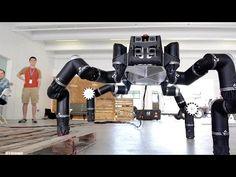 Meet RoboSimian, NASA JPL's Ape-Like Robot! - YouTube