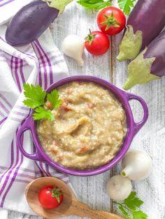 Purée d'aubergines : Recette de Purée d'aubergines - Marmiton