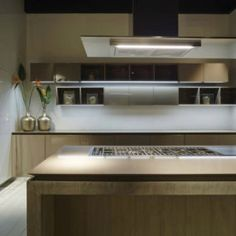 Neutral Chic in FLY Oak Kitchen by RiFRA
