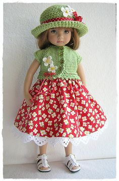 Little Darling red n green outfit | Flickr - Photo Sharing!