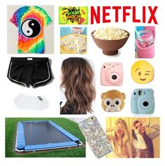 """""""READ DESCRIPTION"""" by flowerprincess15 ❤ liked on Polyvore featuring Abercrombie & Fitch, adidas, Polaroid, women's clothing, women, female, woman, misses, juniors and sleepoverchallenge"""