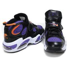 http://www.asneakers4u.com/ Charles Barkley Shoes   Nike Air CB 34 Black/Light Purple