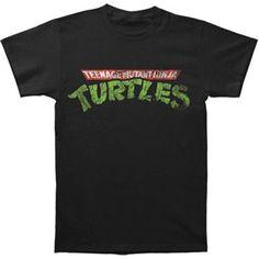 Teenage Mutant Ninja Turtles TMNT Logo T-shirt