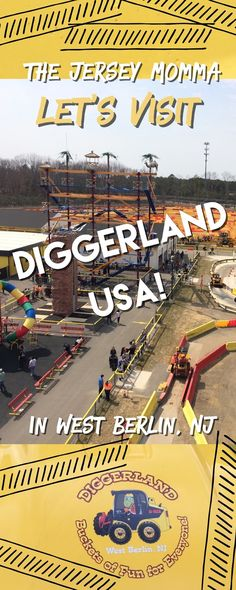 The Jersey Momma: Let's Visit Diggerland USA in West Berlin, New Jersey: A Jersey Momma Review