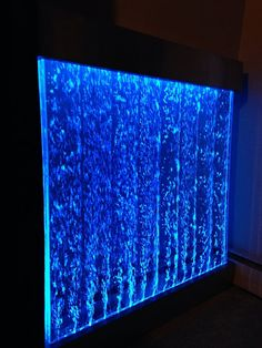 Headboard Alternative, Church Stage Design, Color Changing Lights, Home Theater, Home Interior Design, Lighting Design, Man Cave, Wall Mount, Bubble Water