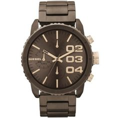 Diesel Women's DZ5319 Advanced Brown Watch Diesel. $149.75. Durable mineral crystal protects watch from scratches,. Band circumference: 175mm. Chronograph watch. Water-resistant to 10 M (33 feet). Stainless steel. Save 33%!