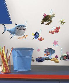 Look at this #zulilyfind! Pixar Finding Nemo Peel & Stick Decal Set by Pixar #zulilyfinds