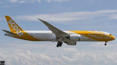 Scoot Airlines Boeing 787-9 Dreamliner