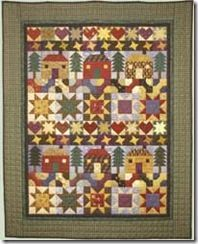 Country Sampler Quilt Pattern by Debbie Mumm