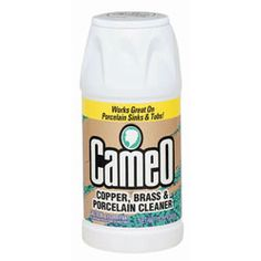 Cameo Aluminum and Stainless Steel Cleaner, 10 oz, Powder, Can - Includes 12 per case. Copper Cleaner, Stainless Steel Cleaner, Stainless Steel Pot, Stainless Sink, Cleaning Hacks, Cleaning Supplies, Cleaning Rust, Cleaning Solutions, Cleaning Products