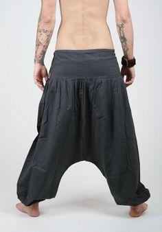 Black  Harem Pants   Aladdin Pants  Harem Trousers  by manaKAmana, $25.00