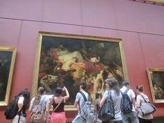 Louvre Museum - Mona Lisa Liberty Leading The People, Aphrodite, Mona Lisa, Louvre, Museum, Paris, Gallery, Painting, Venus De Milo