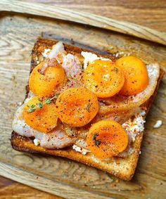 apricots on toast from why50