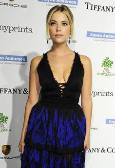November 8, 2014 Ashley Benson attends the Third annual Baby2Baby Gala.