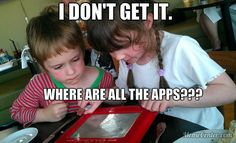 Etch-a-Sketch apps Etch A Sketch, Original Memes, Funny Stuff, Apps, How To Get, Funny Things, App, Appliques, Hilarious Stuff