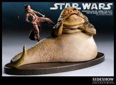 Slave Leia vs Jabba the Hutt - Star Wars