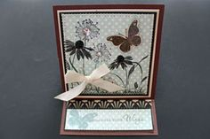 Splitcoaststampers - Easel Card tutorial by Beate Johns  @Taylored Expressions