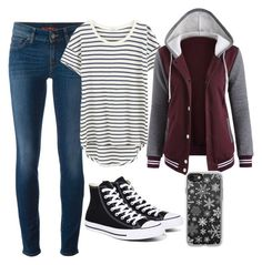 Untitled #246 by emmafetzer on Polyvore featuring polyvore, fashion, style, Splendid, 7 For All Mankind, Converse, Casetify and clothing