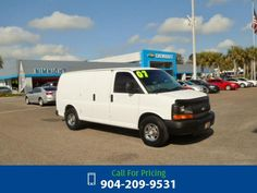2007 Chevrolet Chevy Express Work Van Call for Price  miles 904-209-9531 Transmission: Automatic  #Chevrolet #Express #used #cars #NimnichtChevrolet #Jacksonville #FL #tapcars