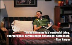 Alan Harper: Pain